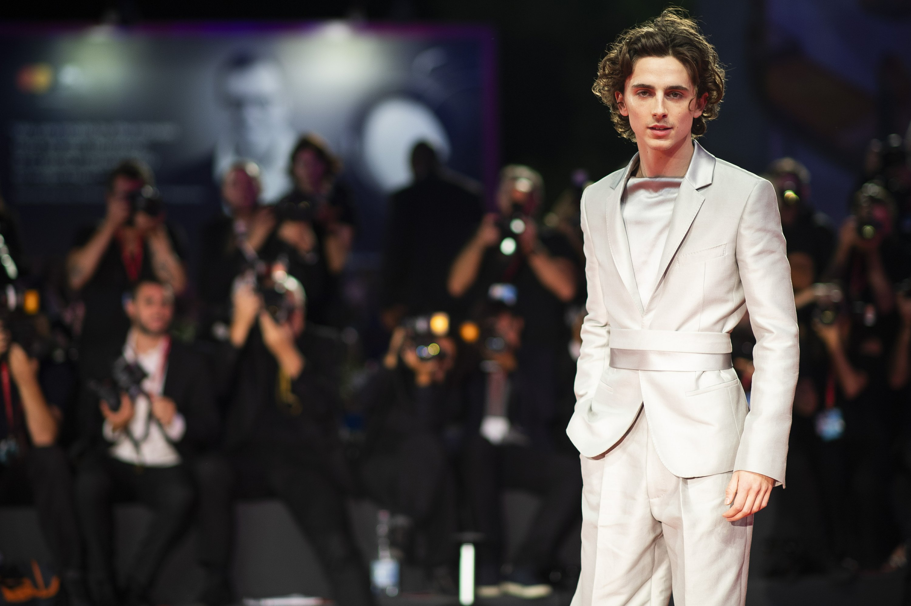 Timothee Chalamet Makes A Big Impression In Venice