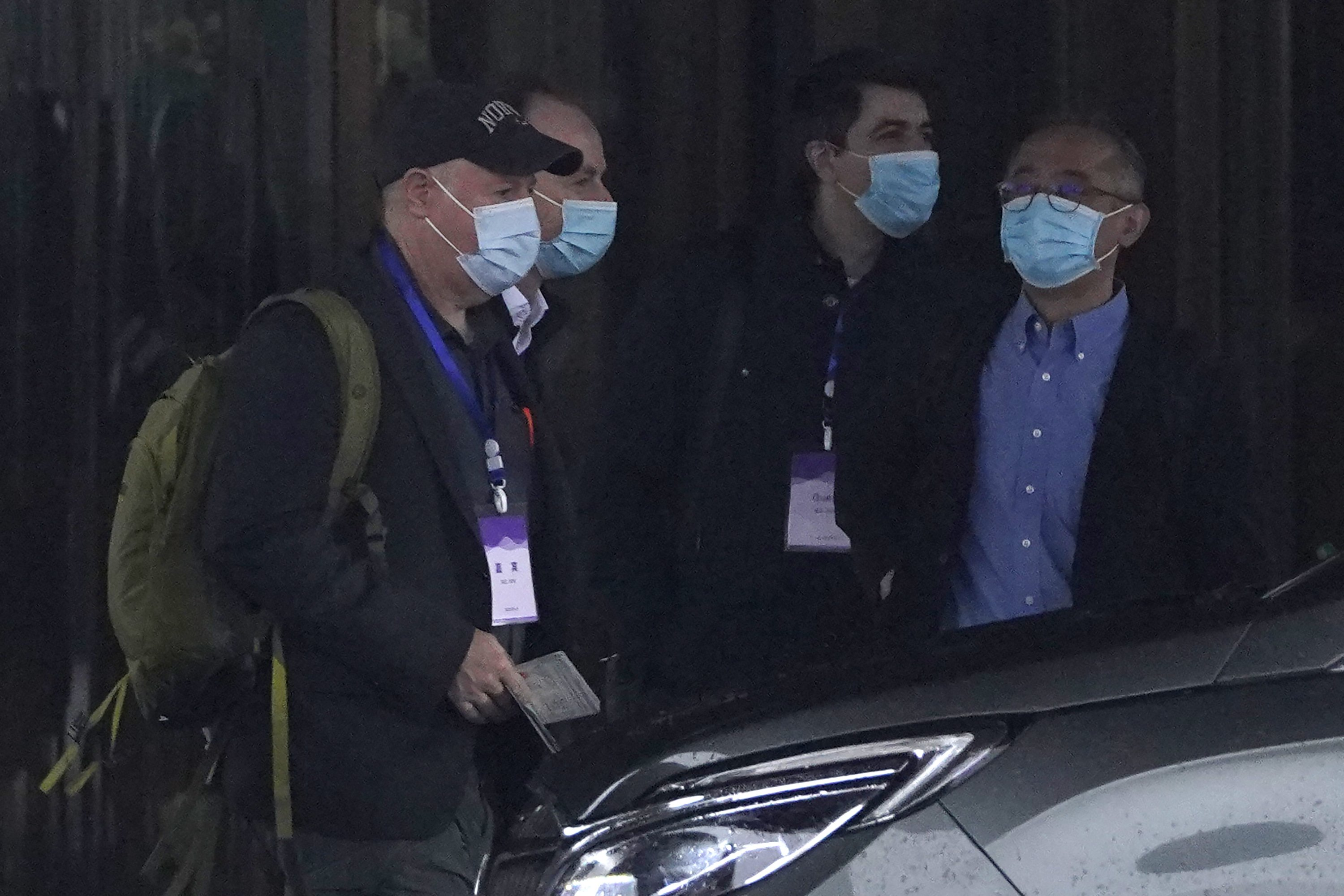 WHO team in Wuhan visits disease control centers – The Associated Press