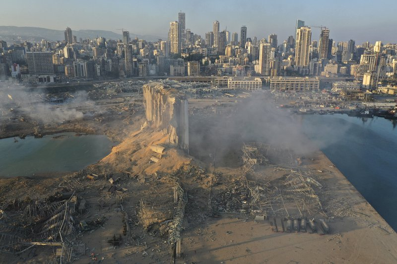 The Devastation Of Beirut Following Massive Explosion [DRONE IMAGES]