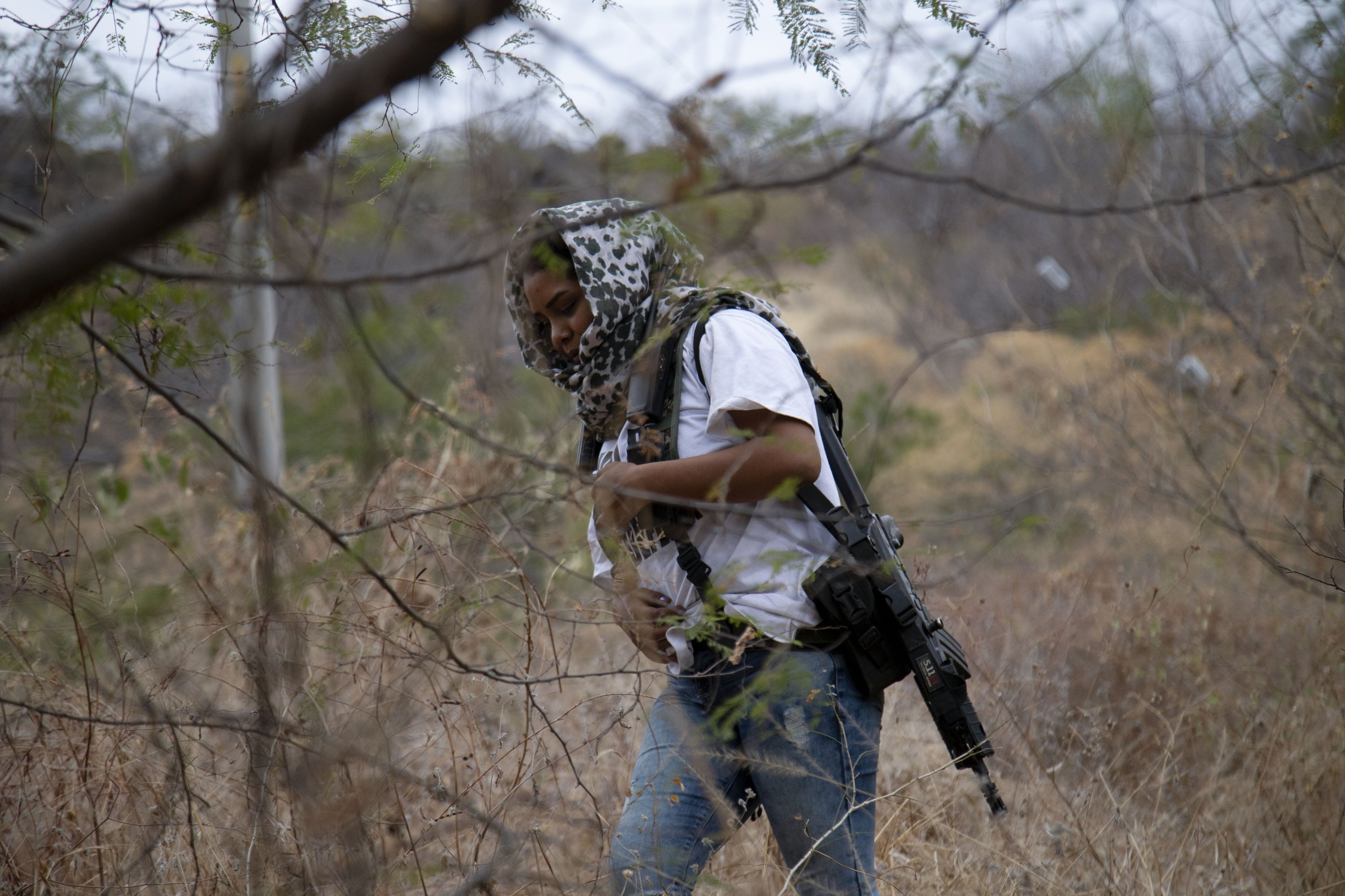 In Mexico, women take front lines as vigilantes…