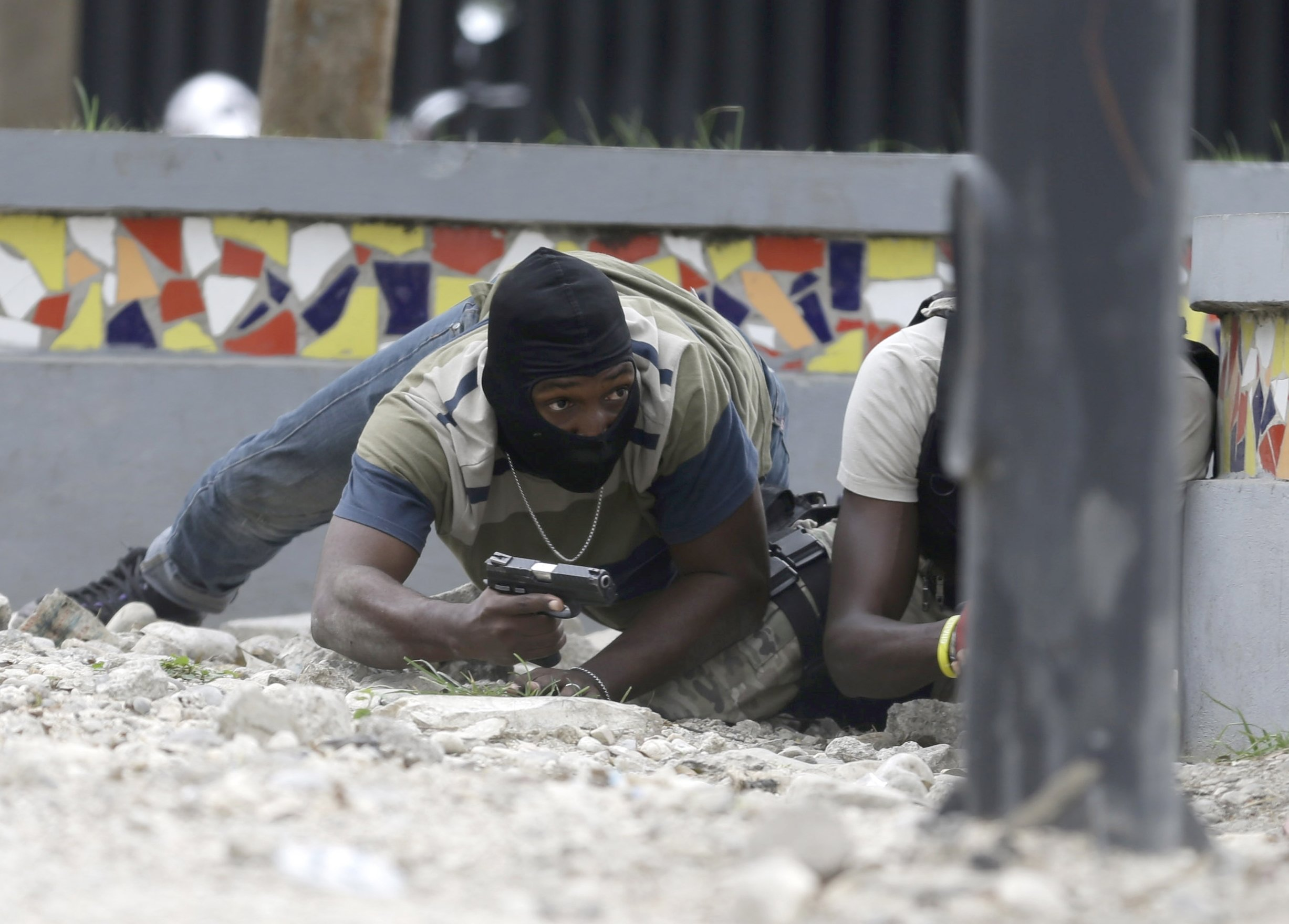 Haiti says soldier died of wounds after shootout with police