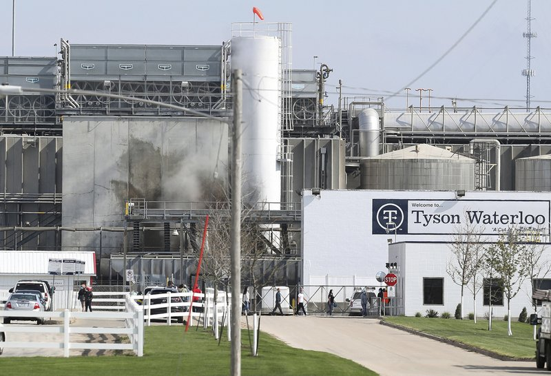 Tyson Foods suspends Iowa plant managers on claim they bet on how many workers would get infected during coronavirus outbreak