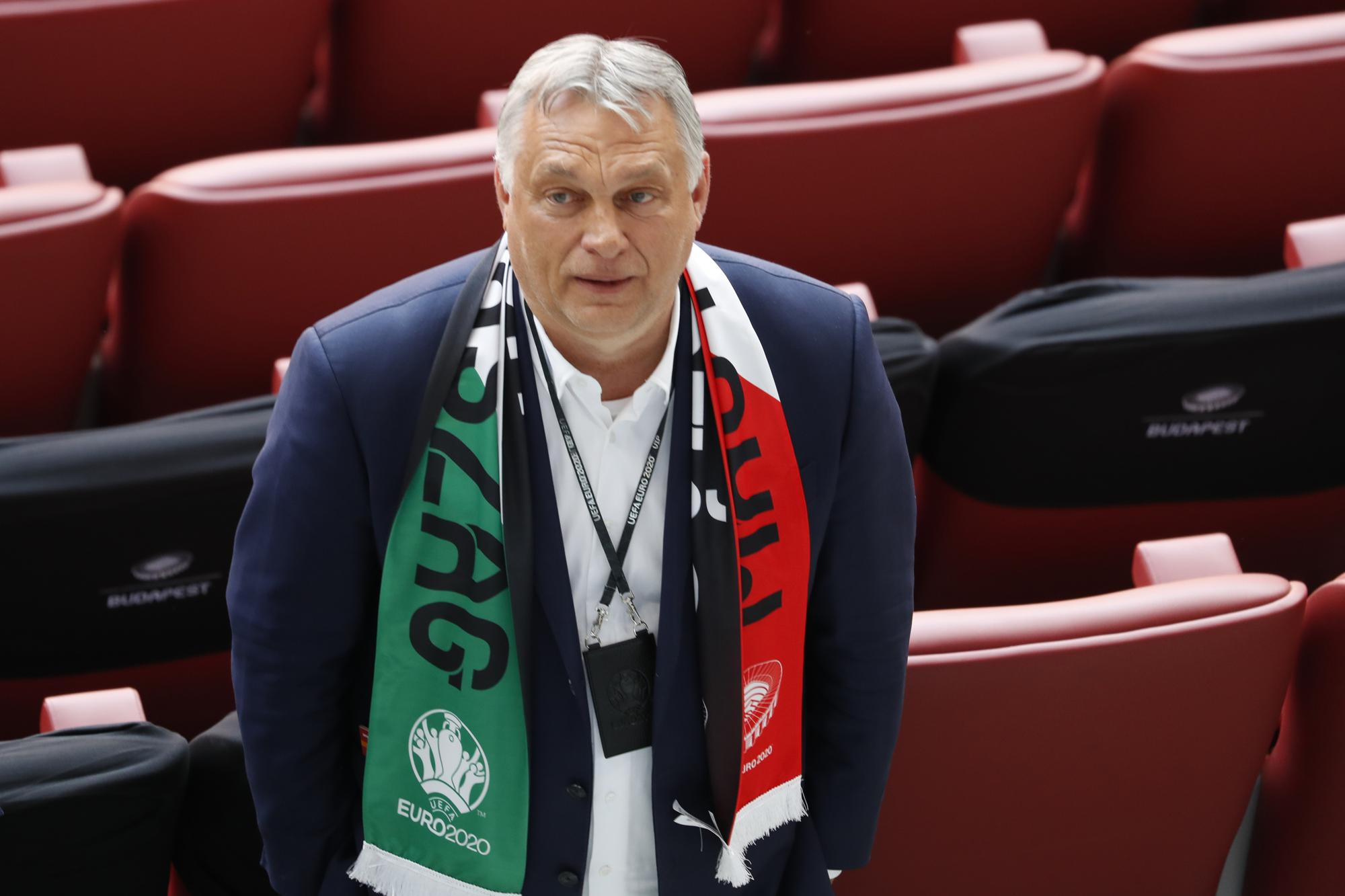 Hungary's PM uses soccer to push vision of right-wing Europe