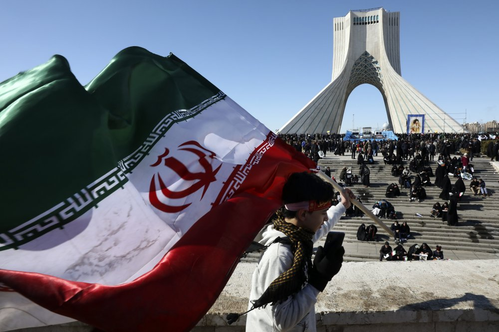 Iran remembers 1979 Islamic Revolution amid high US tension