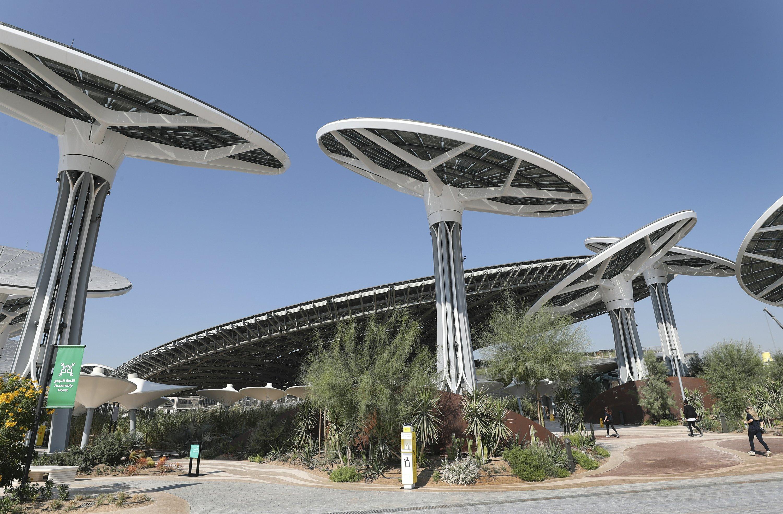 Expo 2020 unveils key pavilion in Dubai as pandemic surges