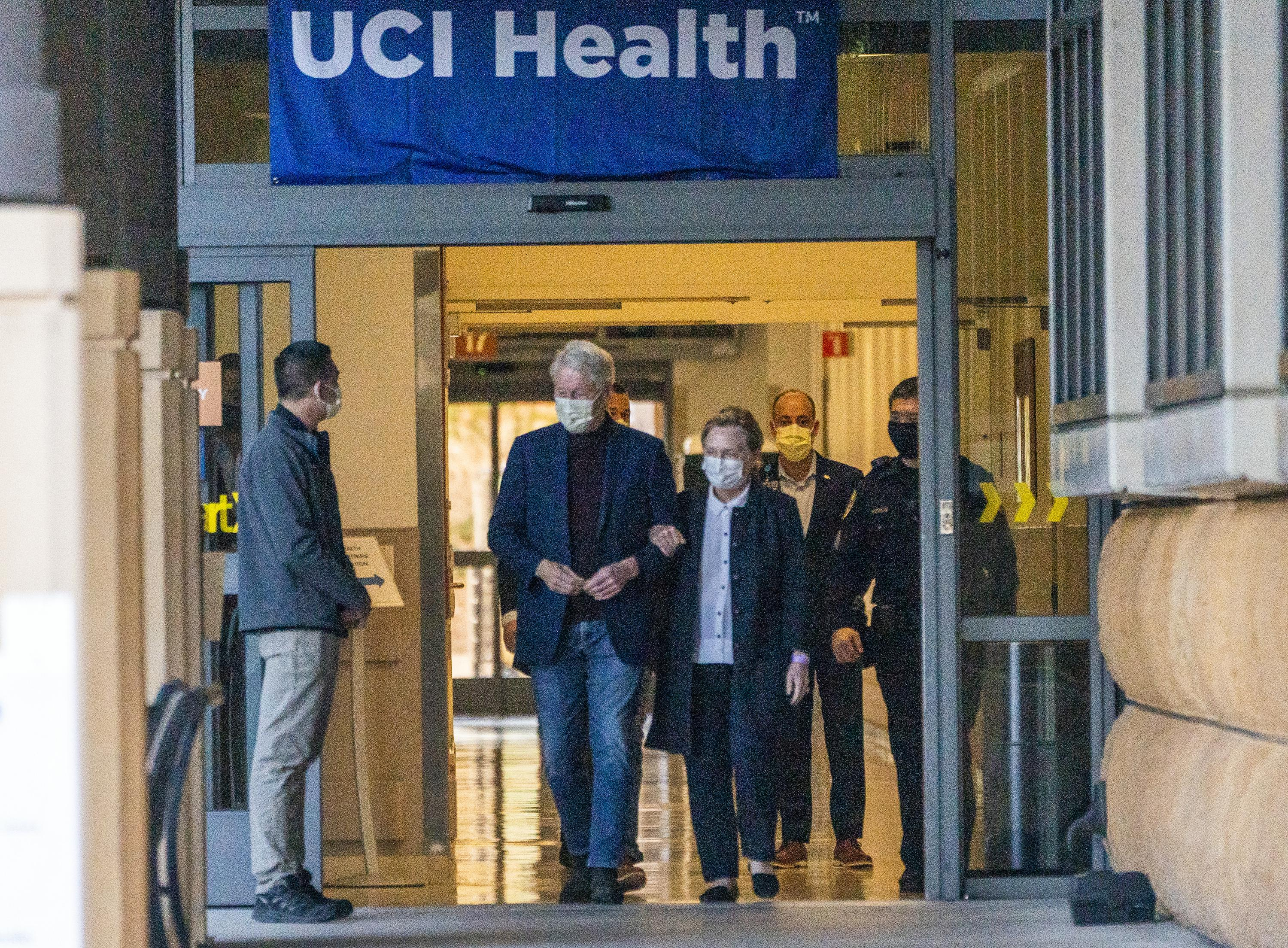 Bill Clinton released from Southern California hospital