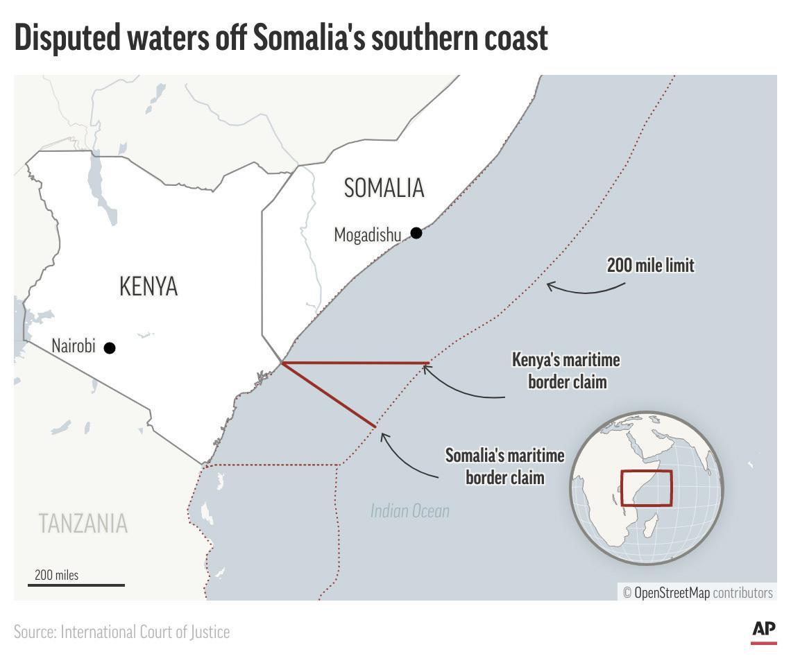 International court backs Somalia in sea dispute with Kenya