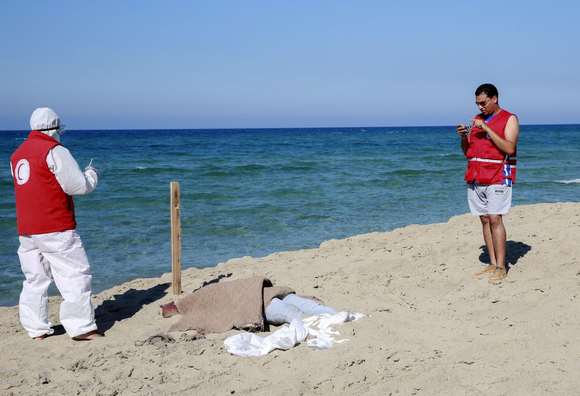 Libya's coast guard recovers dozens of bodies of migrants