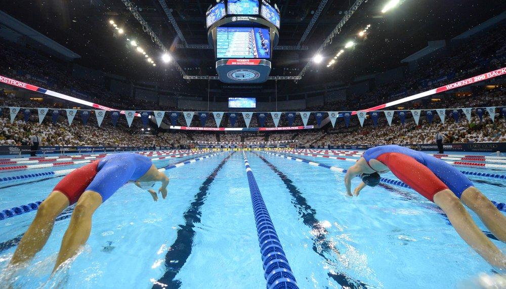 U.S. Swimming Trials Underway