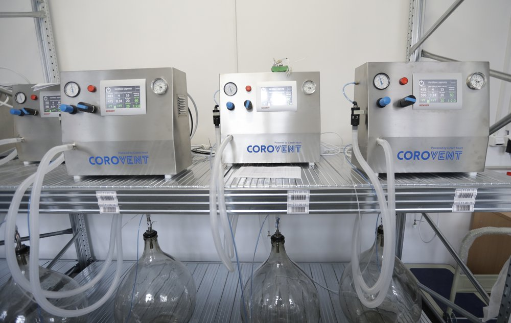 Under Tomas Kapler's leading, a team of 30 Czechs develop a fully functional ventilator — Corovent – in a matter of days