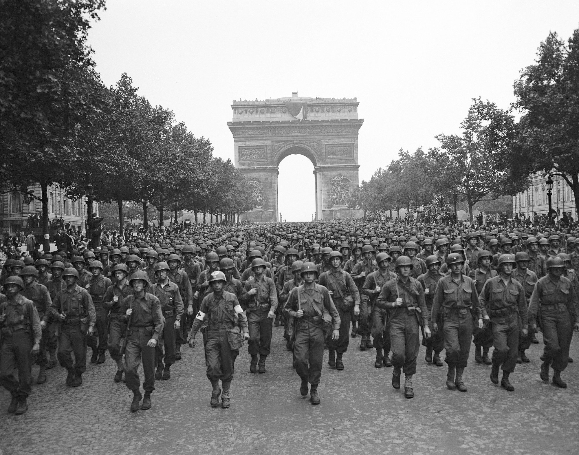 Invisible army set stage for liberation of Paris from Nazis