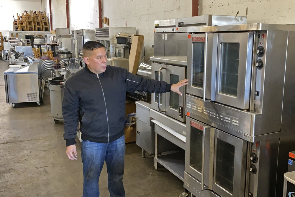 Restaurant closures produce overflow of used equipment