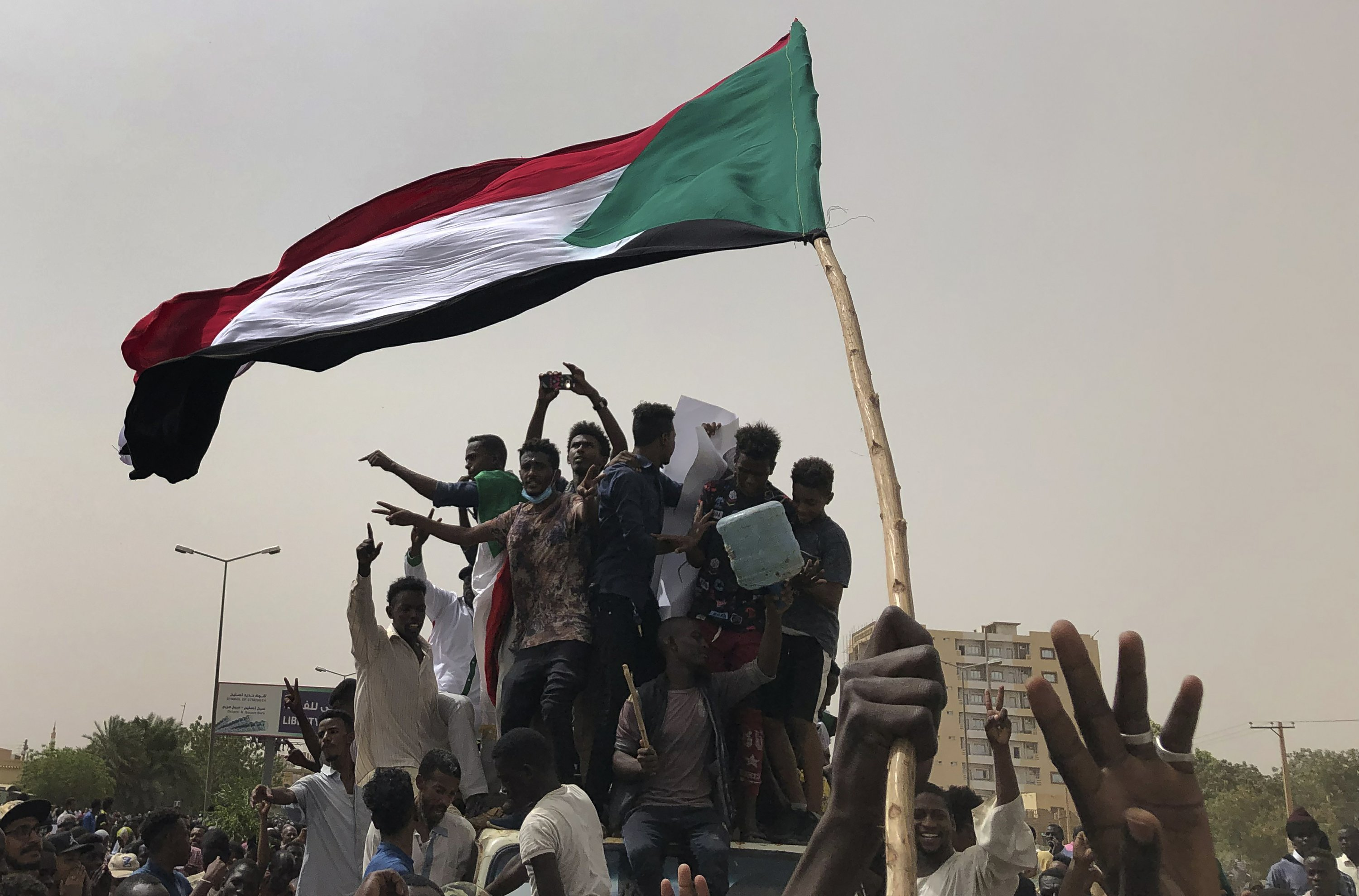 Sudan's protesters claim victory for their 'revolution'