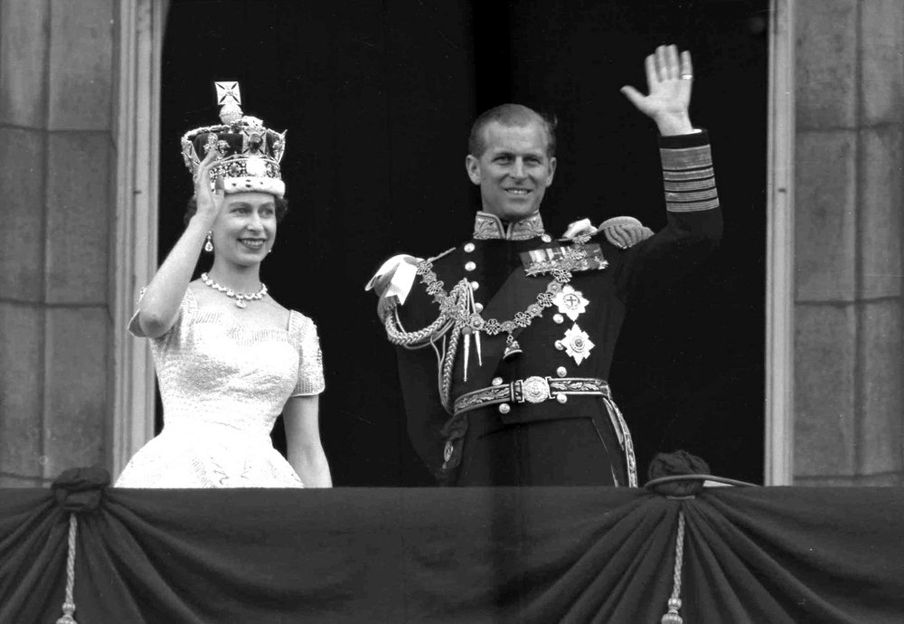 Prince Philip was his wife, Queen Elizabeth's II, bedrock