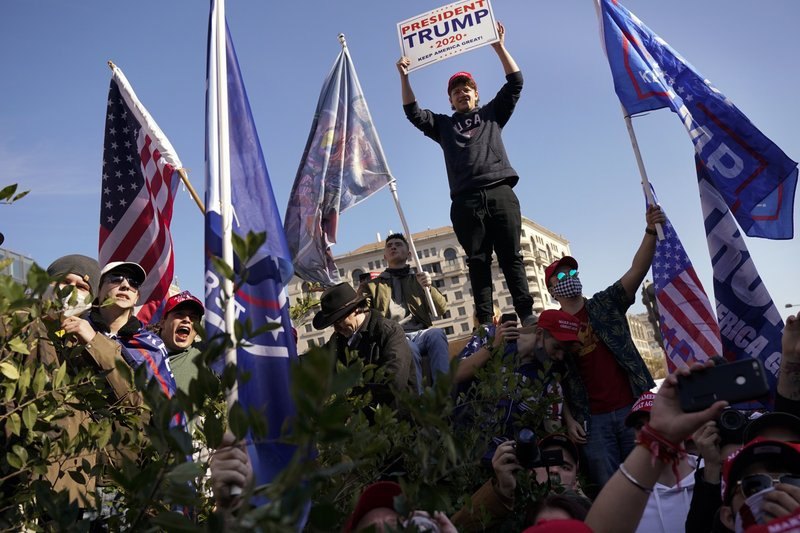 After Trump march: Arrests, accusations and COVID-19 fines