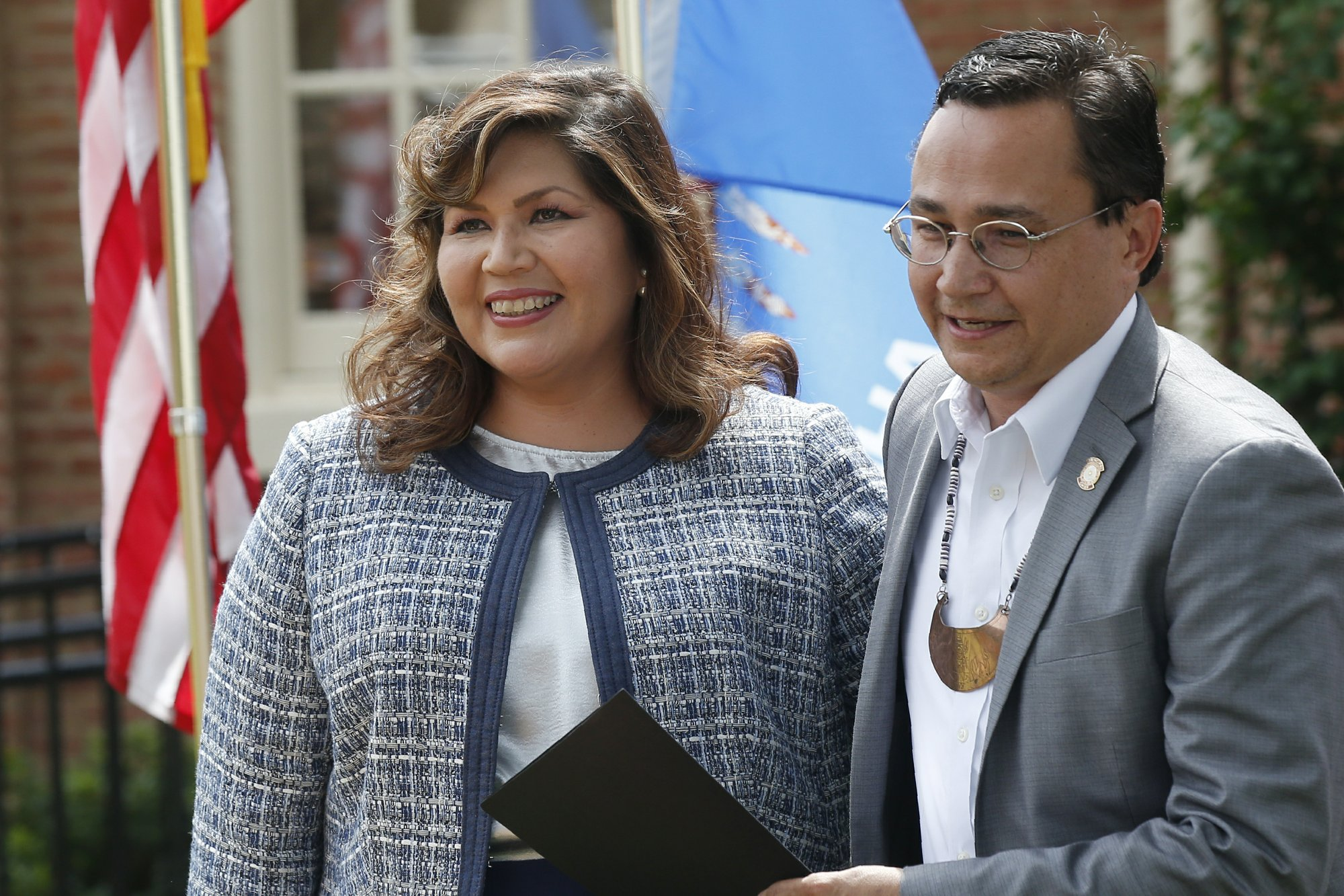 Cherokee chief says journey to seat US delegate will be long