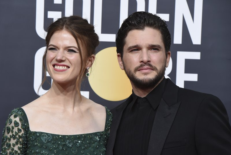 """It's a boy! """"Game of Thrones"""" stars Harington, Leslie welcome new baby"""