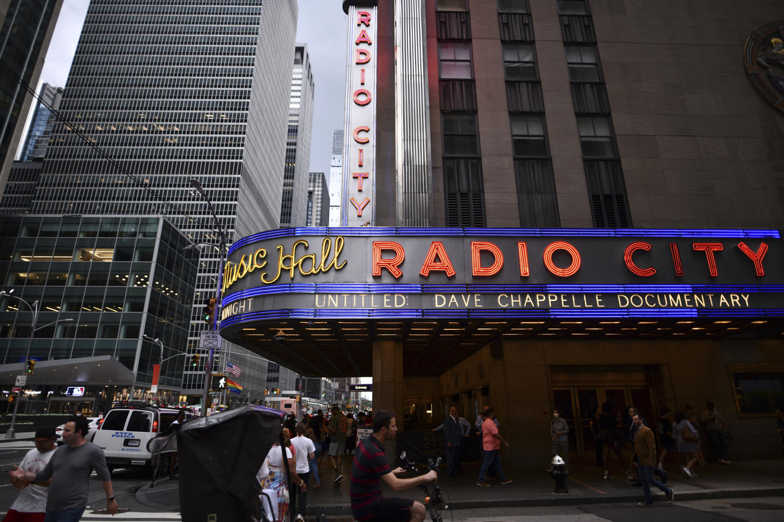 15 months later, Radio City reopens with Dave Chappelle