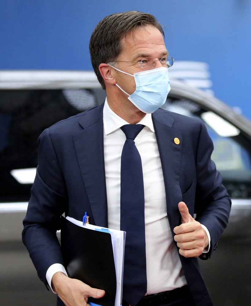 Dutch prime minister Mark Rutte extends the country's tough coronavirus lockdown