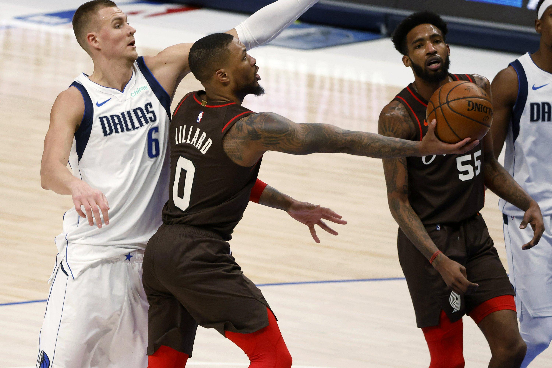 Αποτέλεσμα εικόνας για Portland Trail Blazers Dallas Mavericks -  121-118
