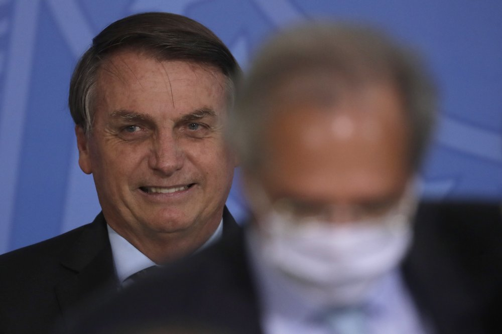 Brazil's Jair Bolsonaro rejects COVID-19 shot, calls masks taboo; however, says approved vaccine will be available free to the public