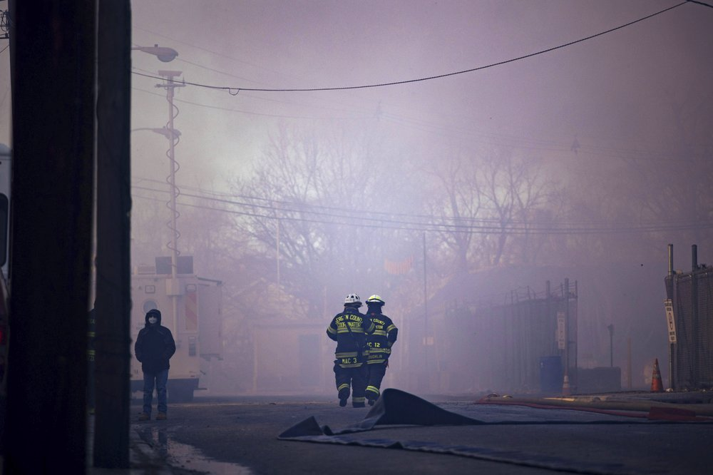 Massive Fire at Recycling Plant in New Jersey Could Burn for Days