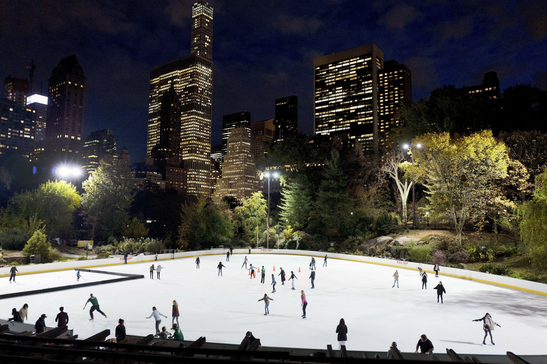 Trump Organization scrubs name from Central Park skate rinks