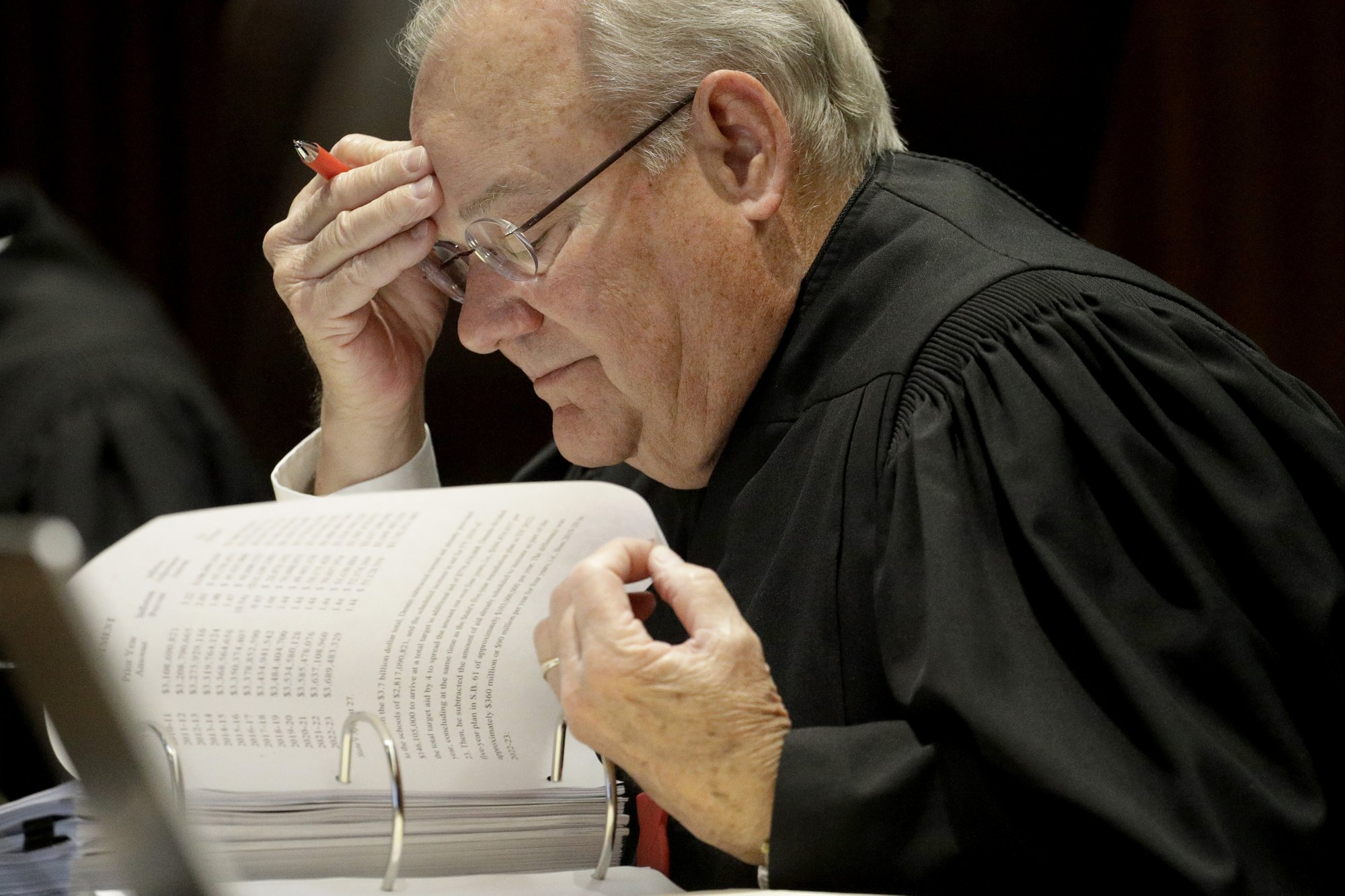 Kansas Supreme Court justice targeted by right to retire