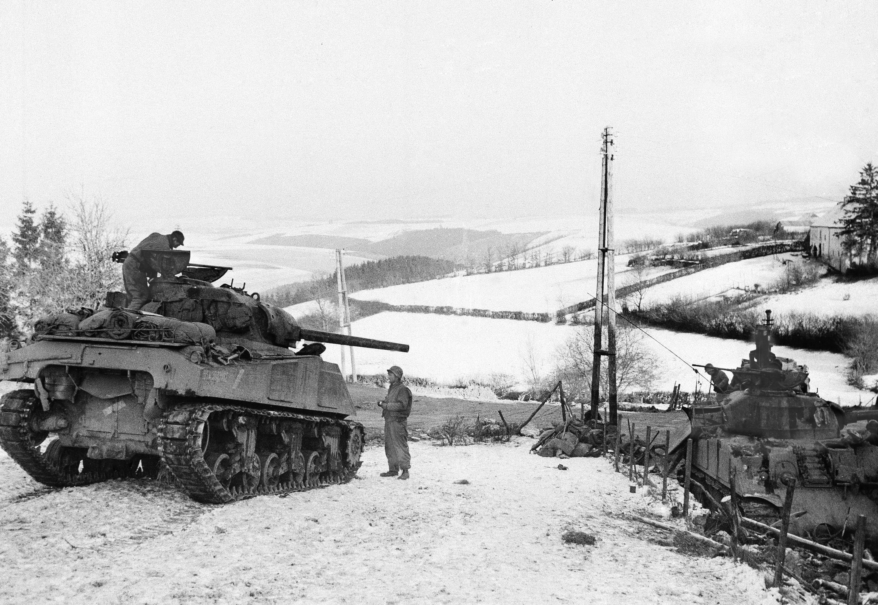 'Nuts!' US troops thwarted Hitler's last gamble 75 years ago