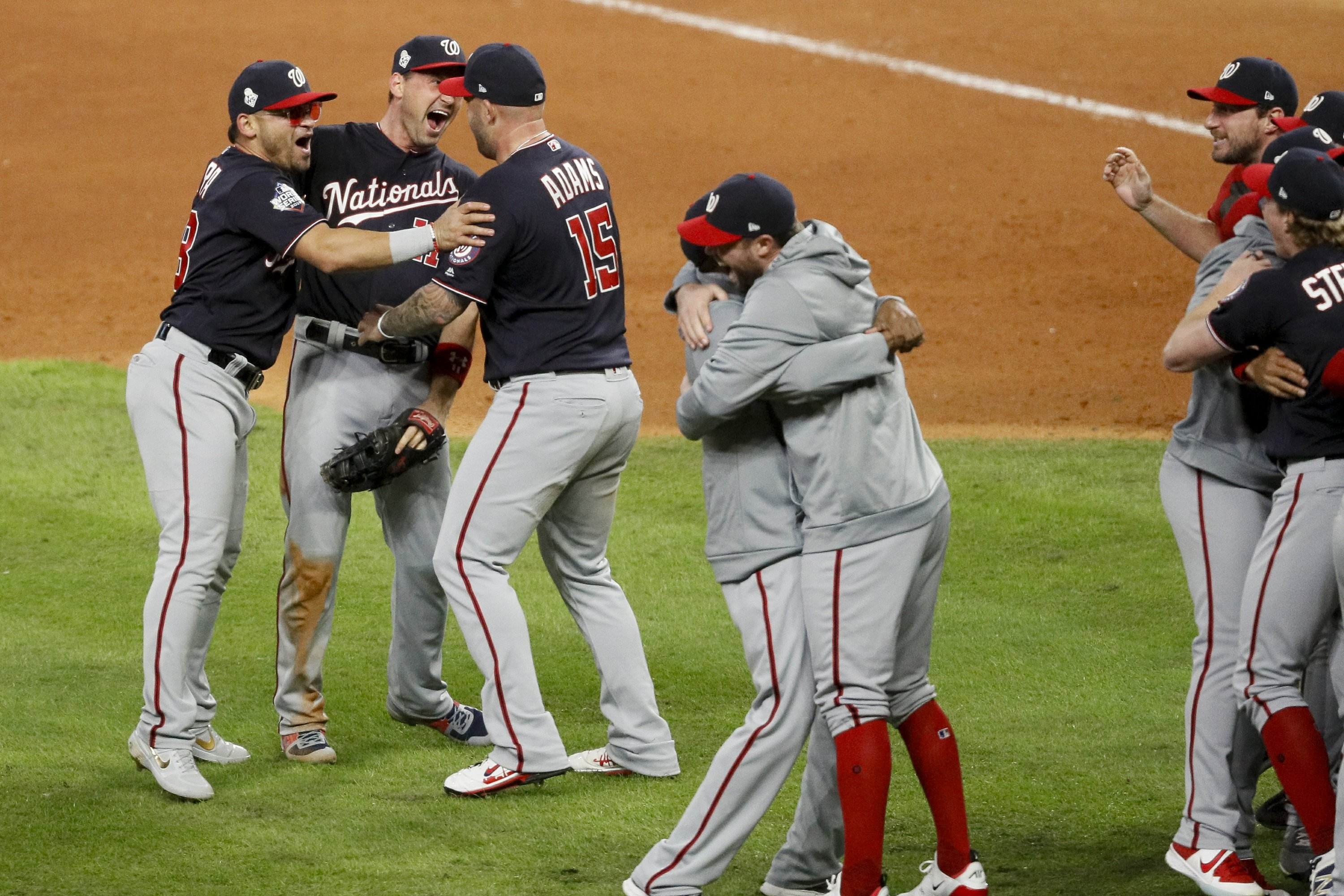 Final comeback as Nationals win World Series title