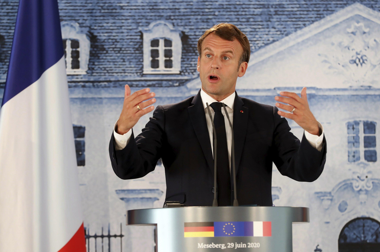 Macron condemns Turkey's 'felony' actions in Libya thumbnail
