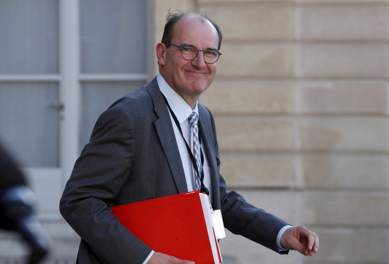 French President Emmanuel Macron names Jean Castex as new prime minister replacing Edouard Philippe