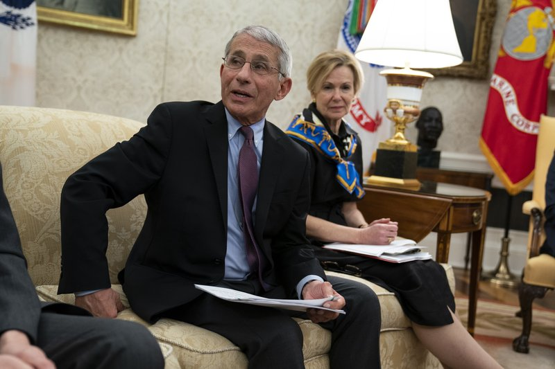 White House blocks Dr. Anthony Fauci from testifying next week at a hearing on the coronavirus outbreak