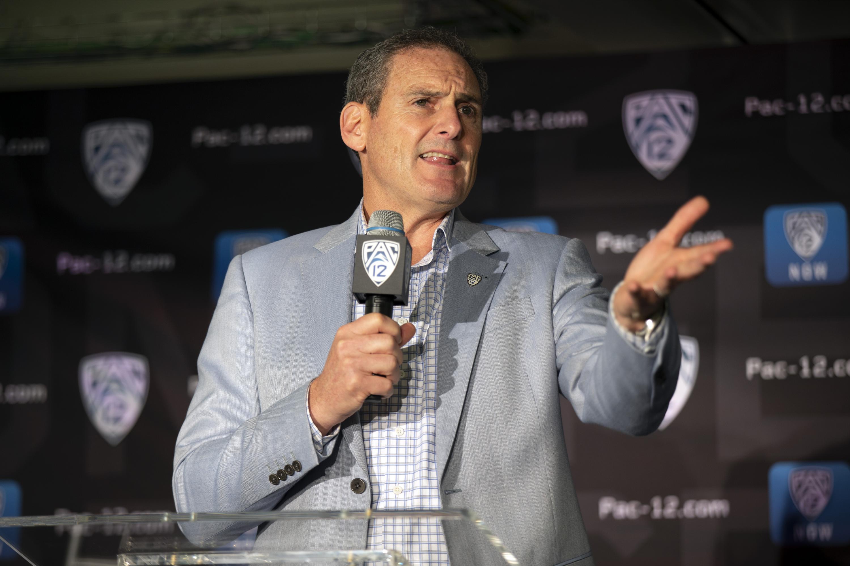 AP Interview: Scott says final score on Pac-12 tenure TBD