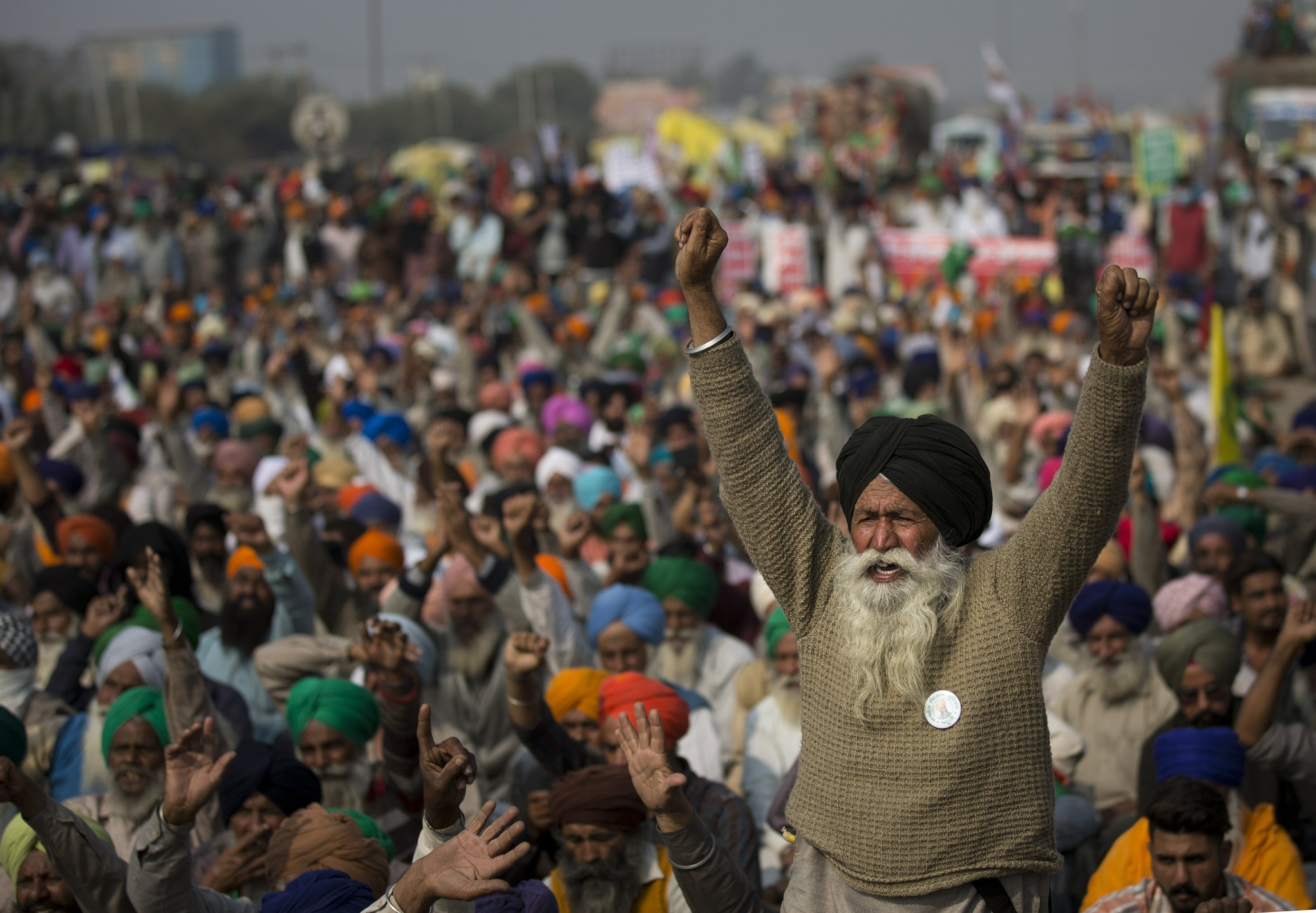 India's winter of discontent: Farmers rise up against Modi – Associated Press