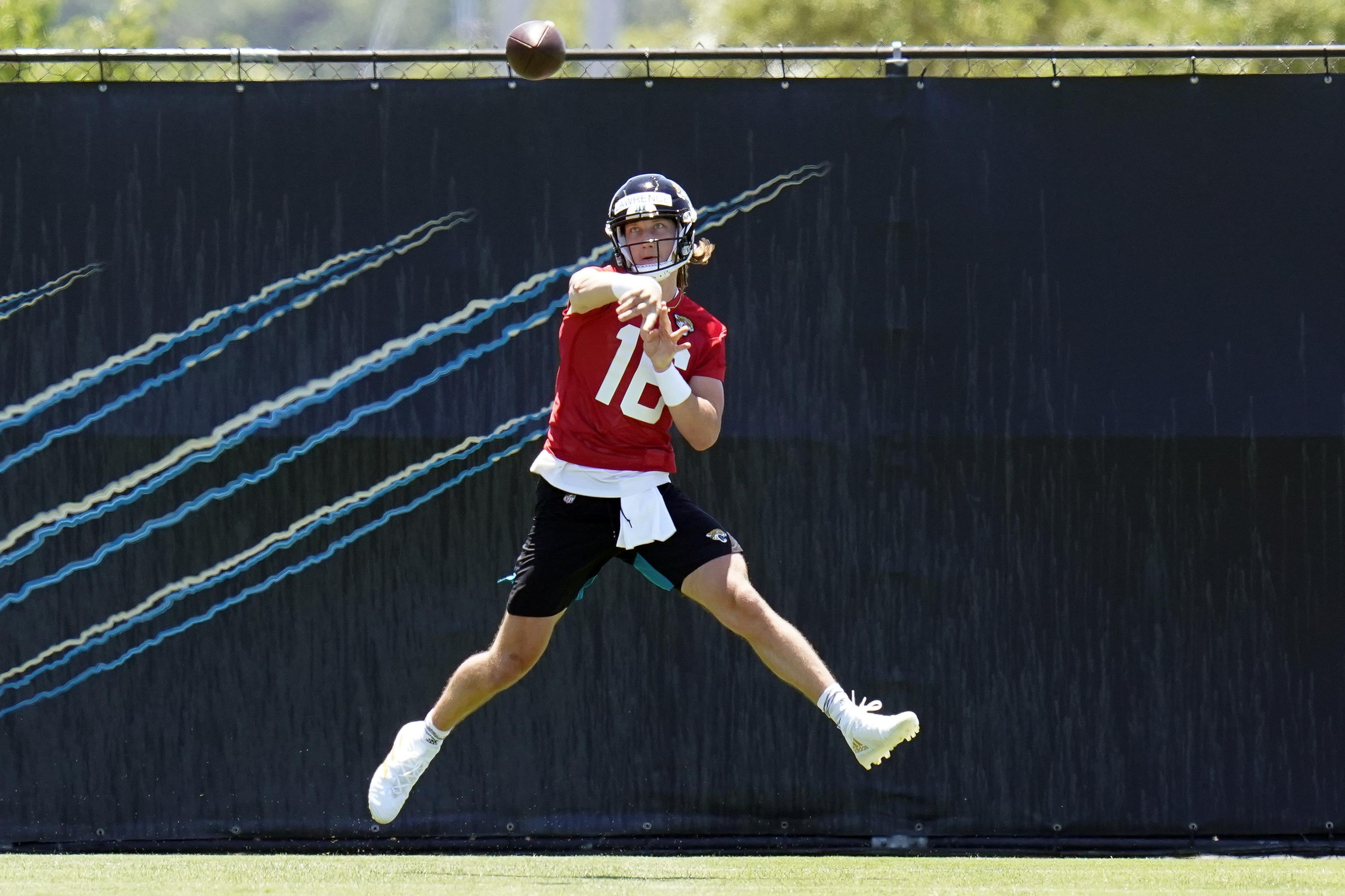 1st rule of Jaguars rookie camp: Don't touch QB Lawrence