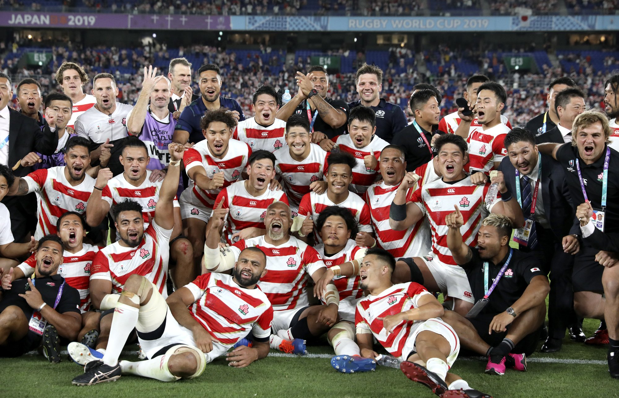 Japan's rugby team shows off the changing face of the nation