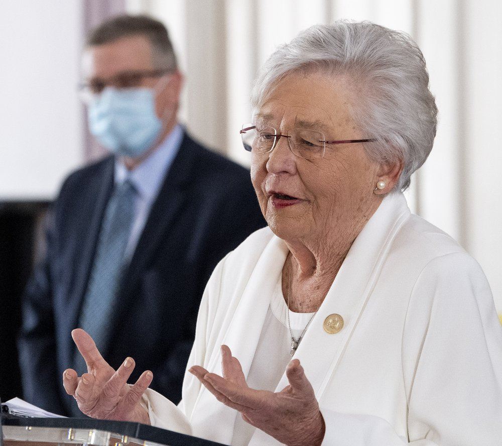 Alabama Gov. Kay Ivey extends face mask mandate for another month