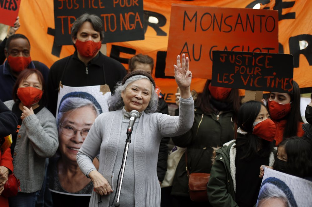 Activists support those exposed to Agent Orange during the Vietnam War