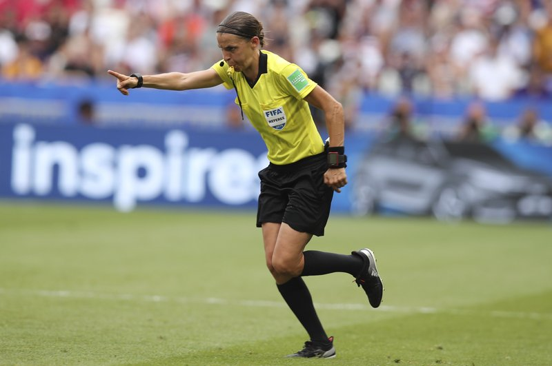 FIFA stats show women referees relied more on VAR than men