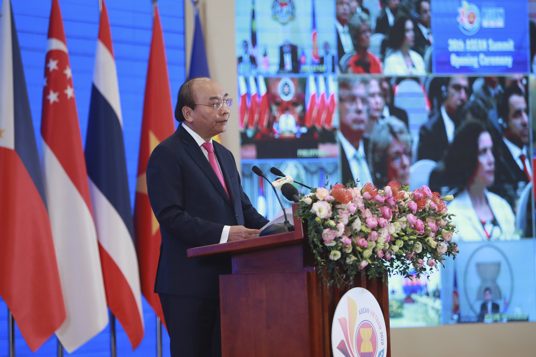 ASEAN virus fund, sea feud in highlight in digital summit thumbnail