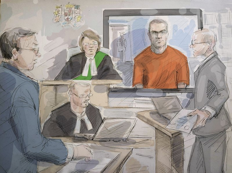 Man admits to using van to kill 10 pedestrians in Toronto; found guilty