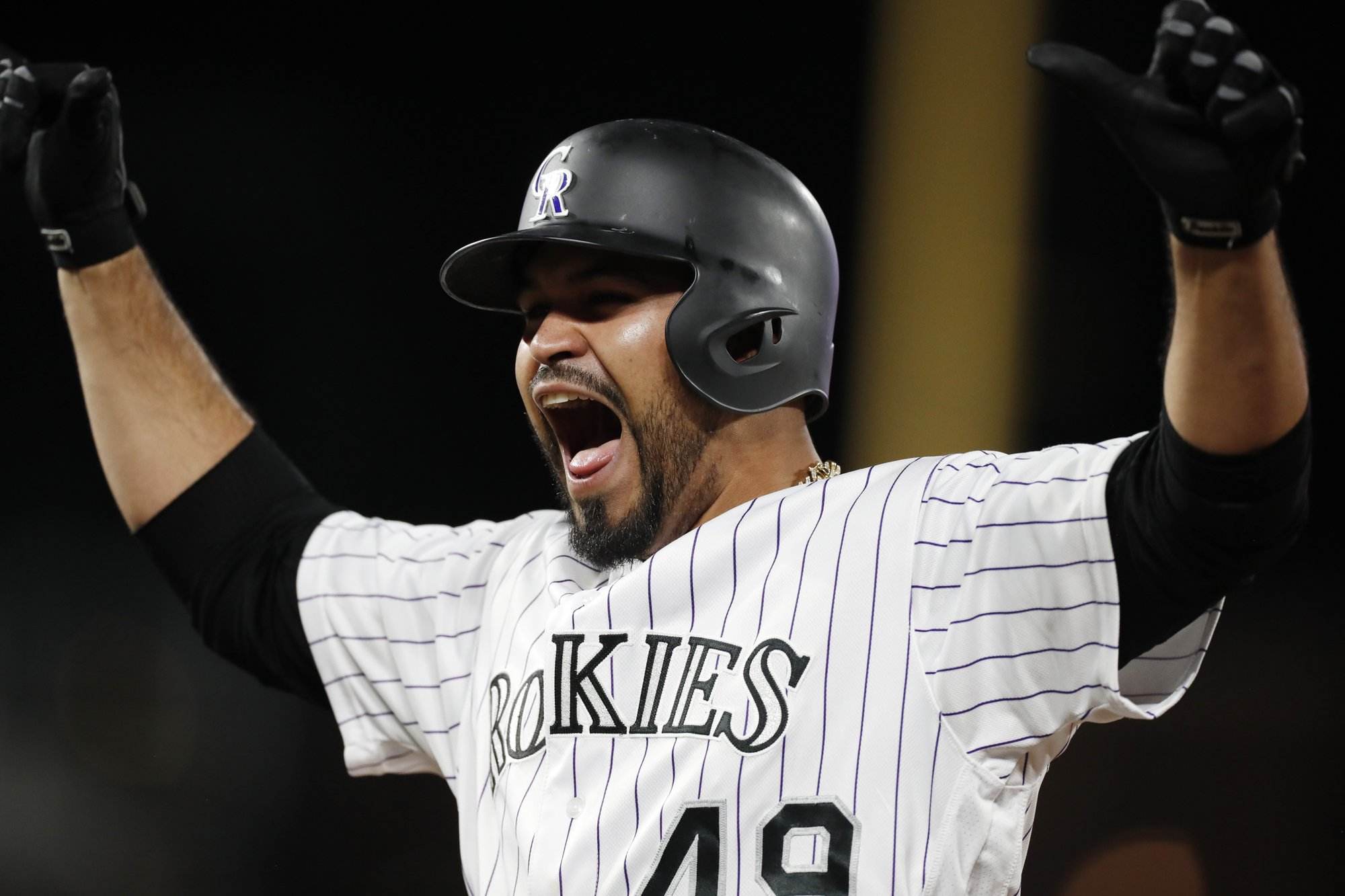 Senzaltela, Story lead Rockies over Mets 9-4