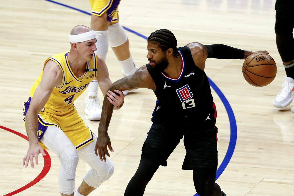 Los Angeles Clippers Move into No. 3 Spot in Western Conference Playoff After Winning Against LA Lakers 118-94