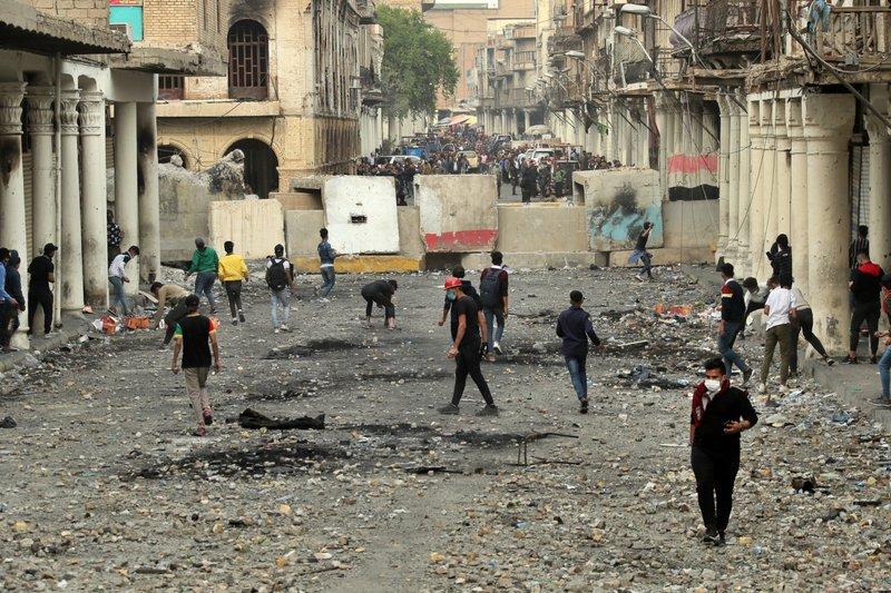 Baghdad Street A Front Line In Revolt