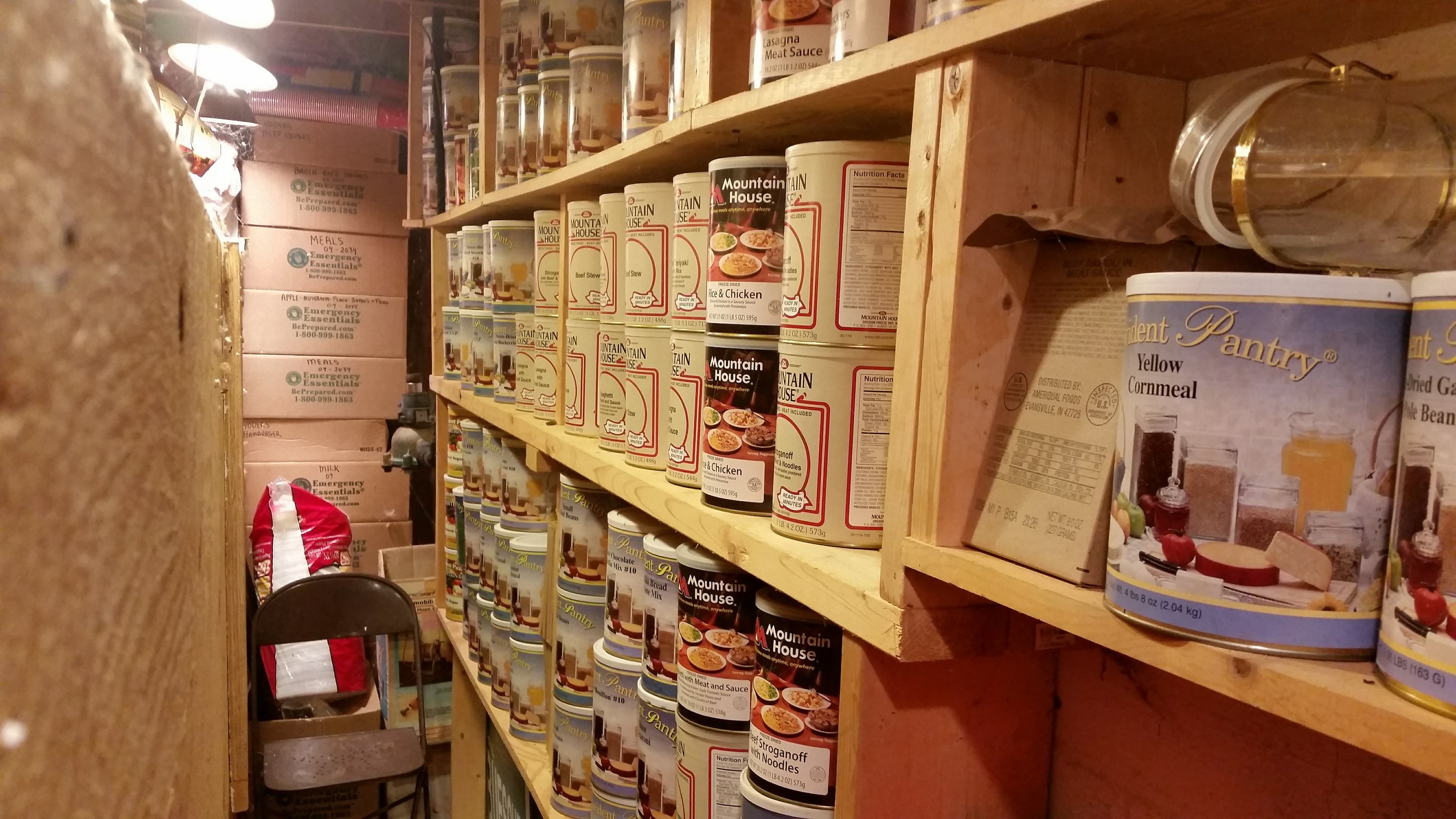Not exactly gloating, stockpiling 'preppers' have a moment