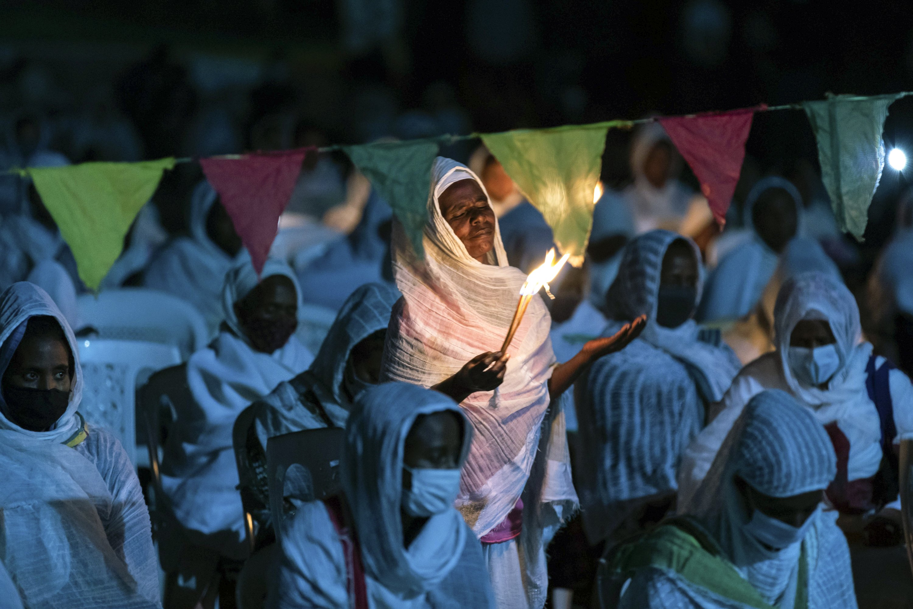 Ethiopia says forced into 'aimless war' as bombings alleged