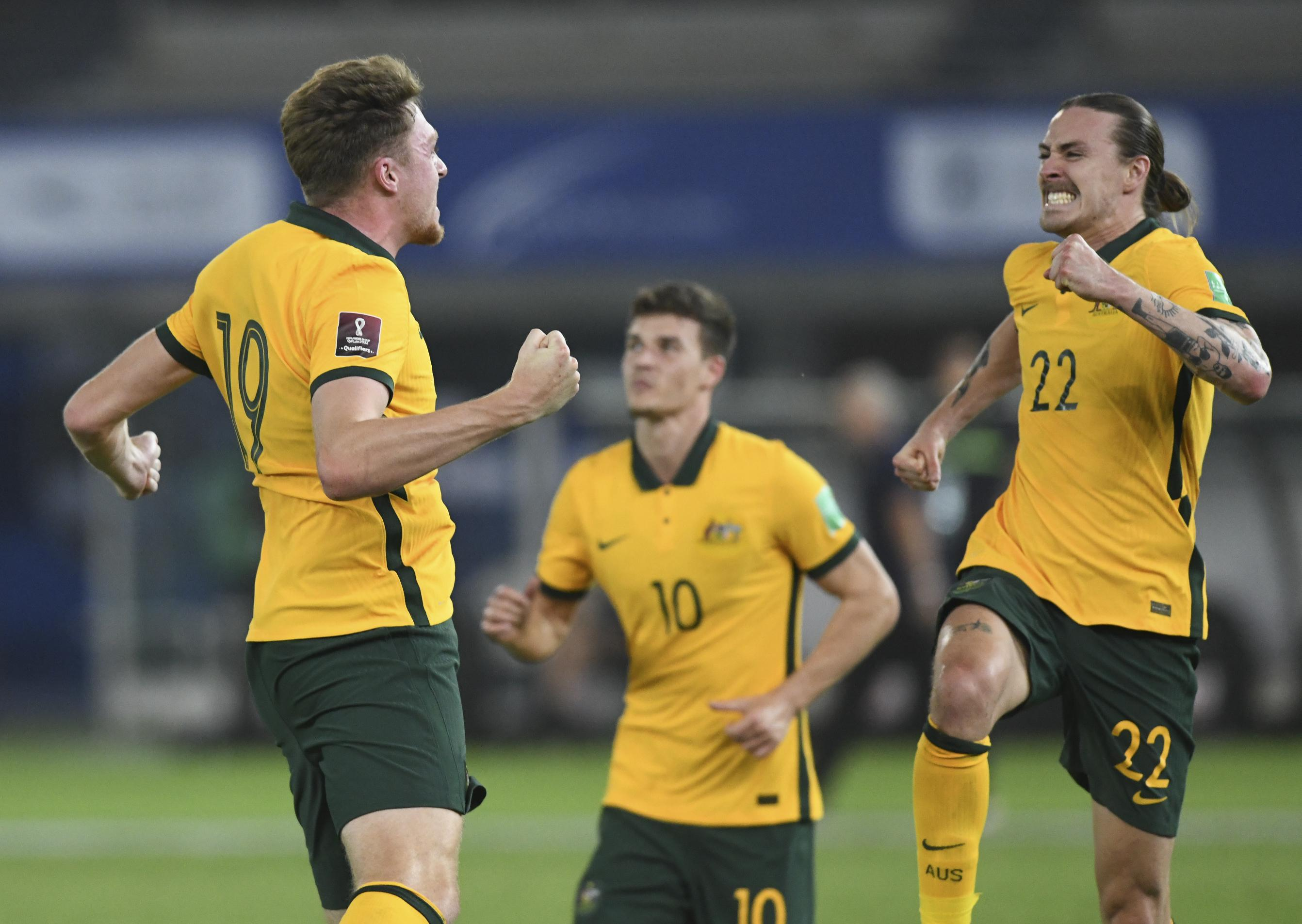 Australia, Japan perfect in WC qualifying stage; China wins