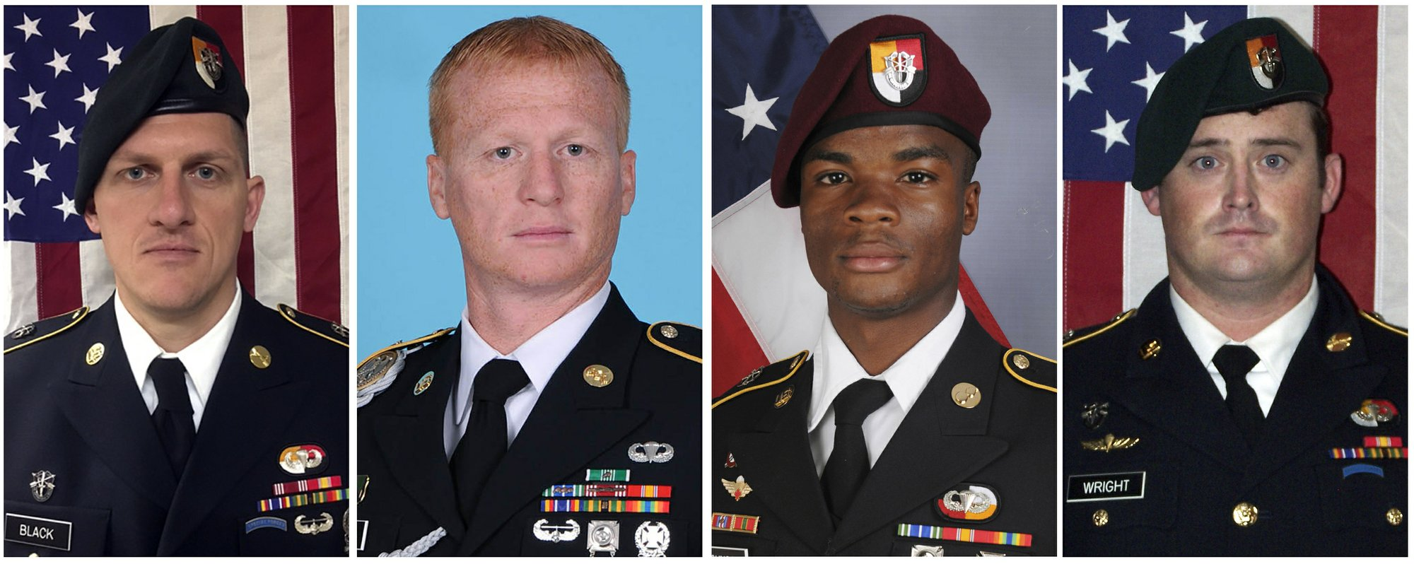 Pentagon ends reviews of Niger ambush that killed 4 soldiers