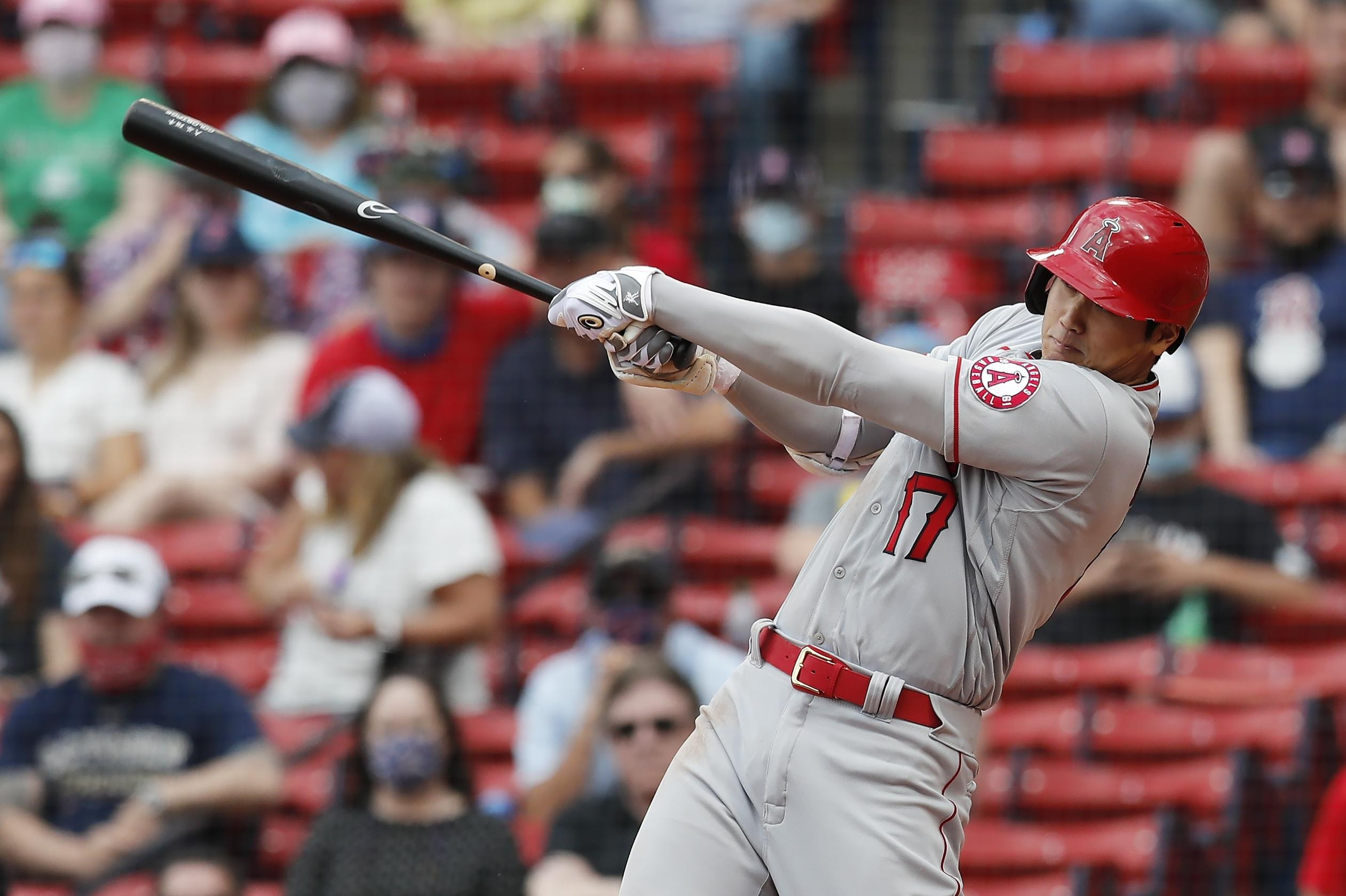Ohtani's 12th homer lifts Angels over Red Sox 6-5